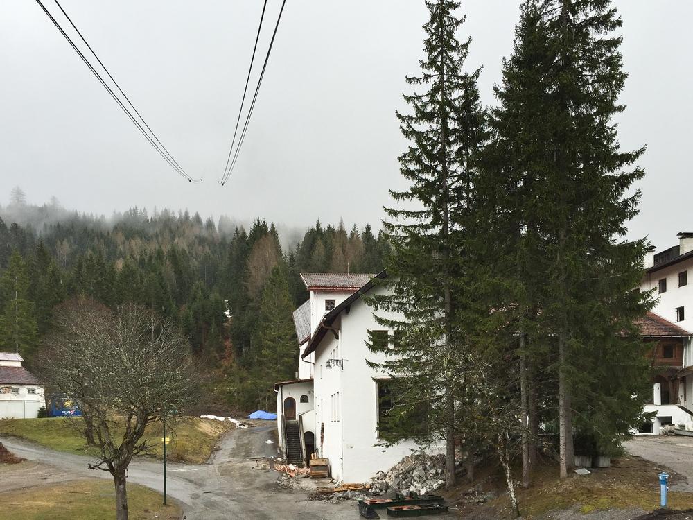 Zugspitze Tiroler Zugspitzbahn Talstation
