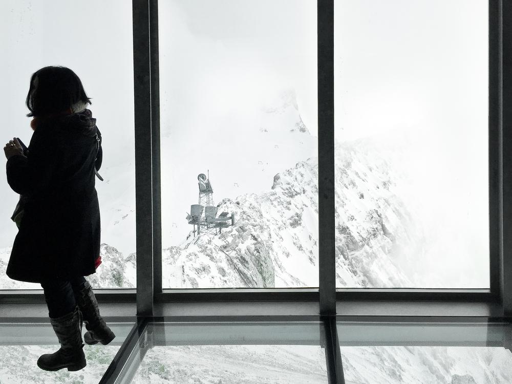 Glasboden Zugspitze Museum