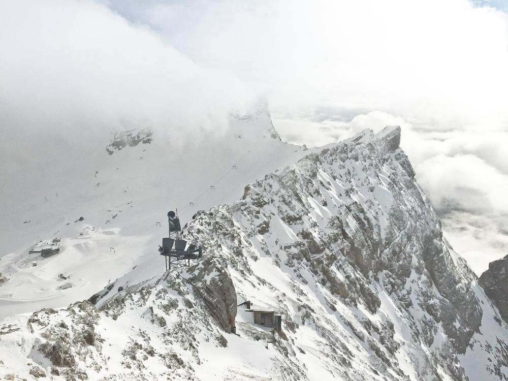 Zugspitzplatt Zugspitze Kammstation
