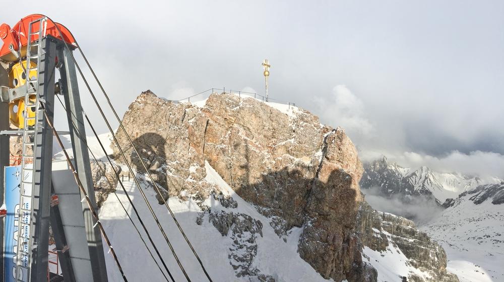 Gipfel Zugspitze Klettersteig