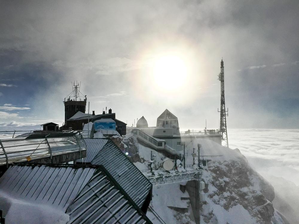 Zugspitze Bergstation Tiroler Zugspitzbahn