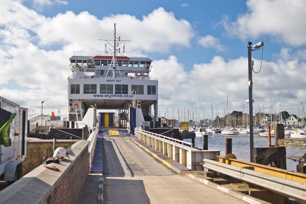 wightlink ferrys isle of wight lymington