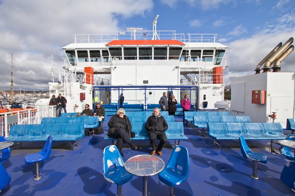 wightlink ferrys isle of wight inside cabin