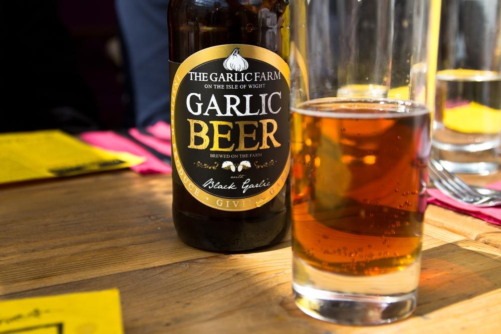 Garlic Beer Garlic Farm Isle of Wight