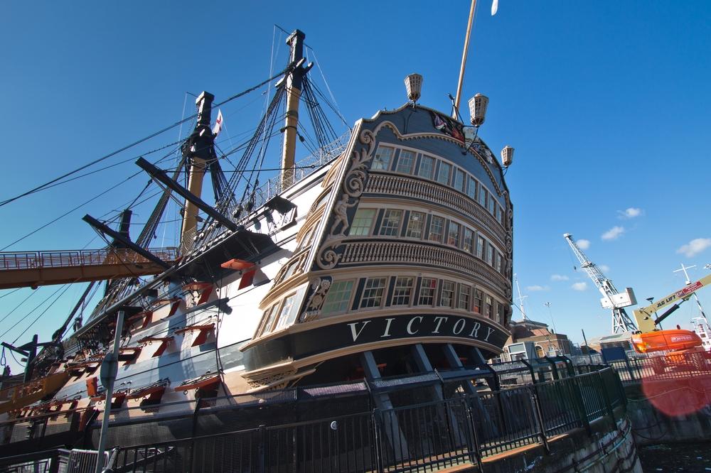 HMS Victory Historic Dockyard Portsmouth