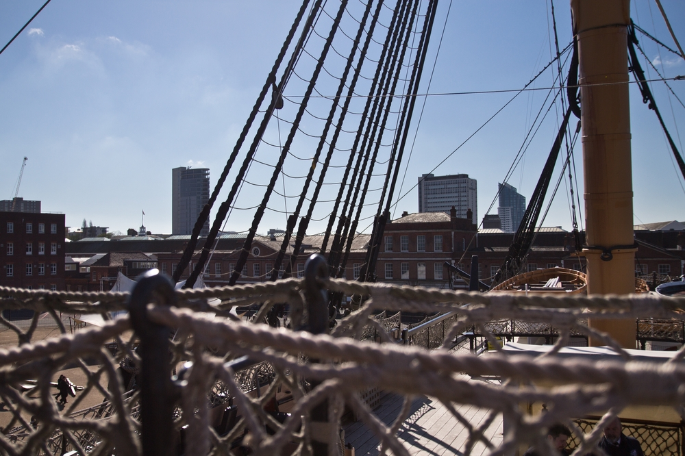 Deck HMS Victory