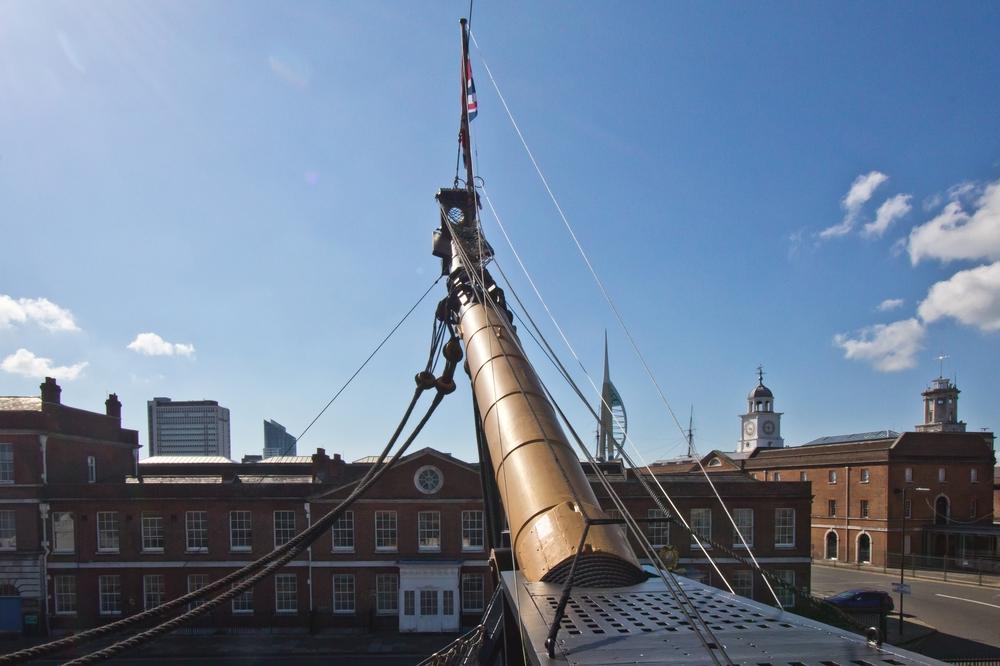 Kajüte Kapitän HMS Victory