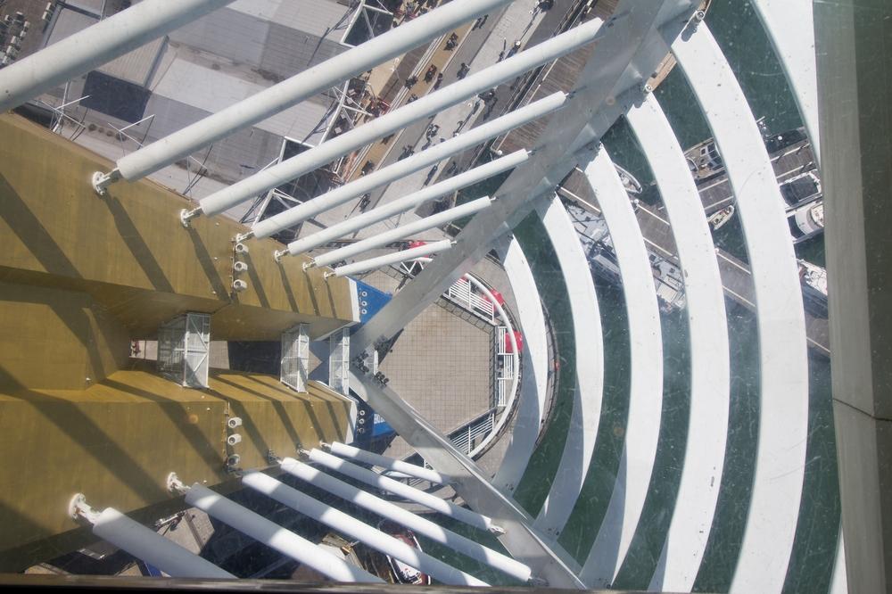 Glasboden Spinnaker Tower Portmouth