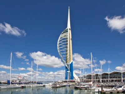 Spinnaker Tower Portsmouth Gunwarf Quays