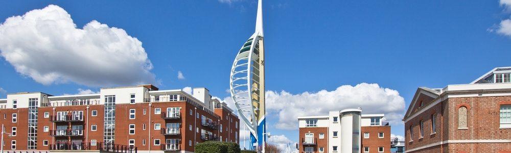Spinnaker Tower Portsmouth Gunwarf Quays
