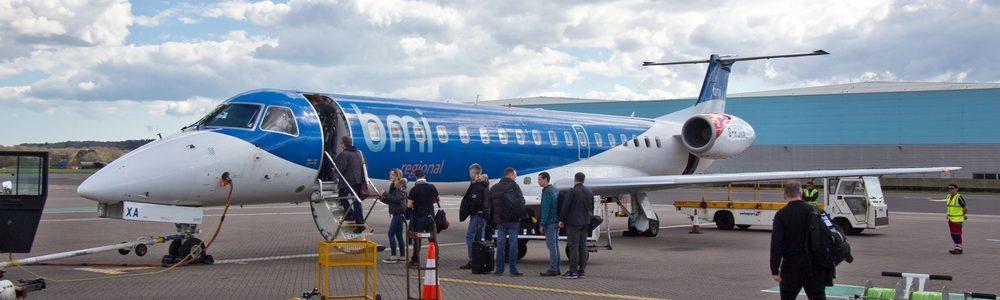 bmi regional Embraer 145 Flughafen Southampton