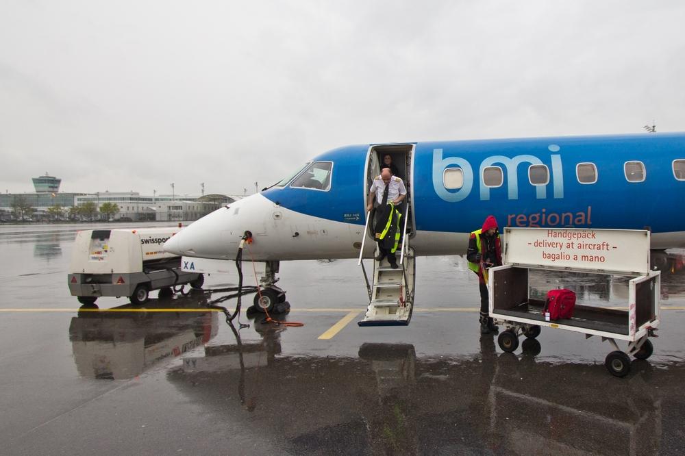 bmi regional München Embraer 145