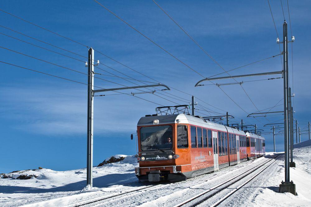 Gornergratbahn Zermatt Wallis Schweiz