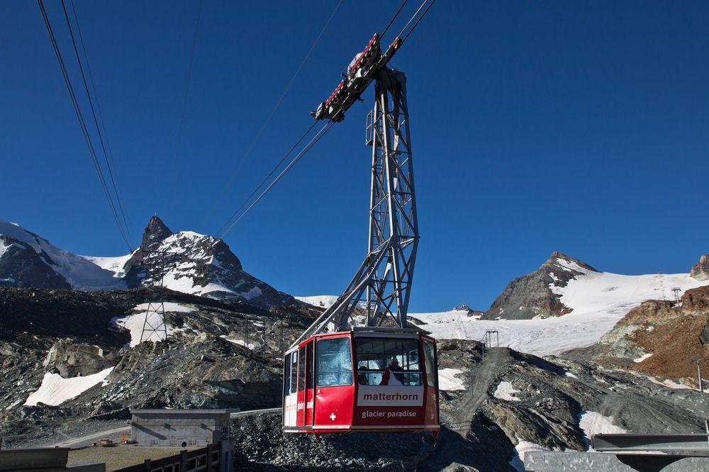 Pendelbahn Klein Matterhorn Gondel