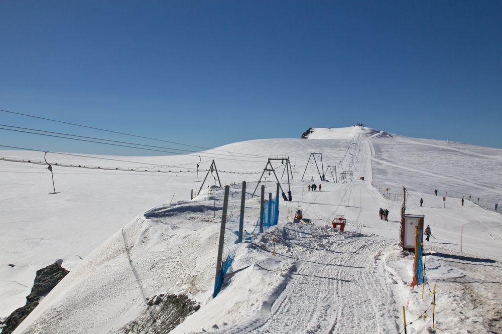 Klein Matterhorn Bergstation Ski Schnee