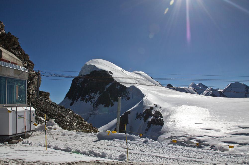 Breithorn Bergstation Klein Matterhorn