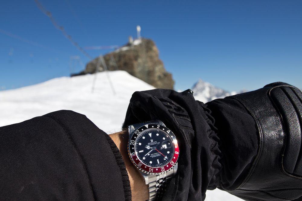 Rolex GMT Master 2 Klein Matterhorn