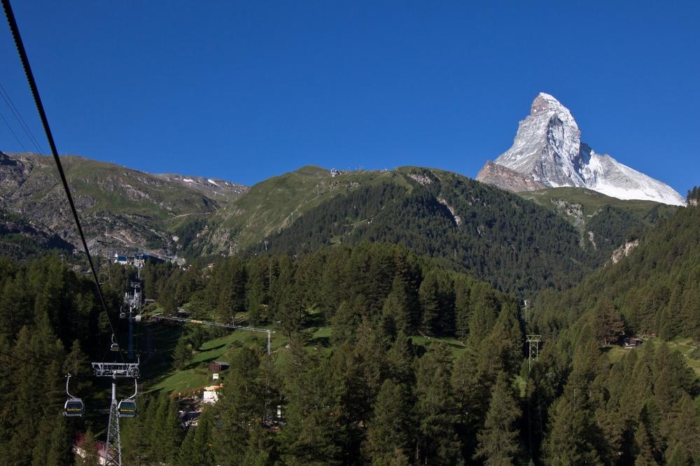 Zermatt Wallis Matterhorn Sommer