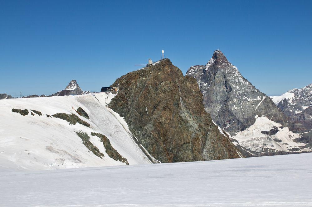 Klein Matterhorn Breithorn Tour