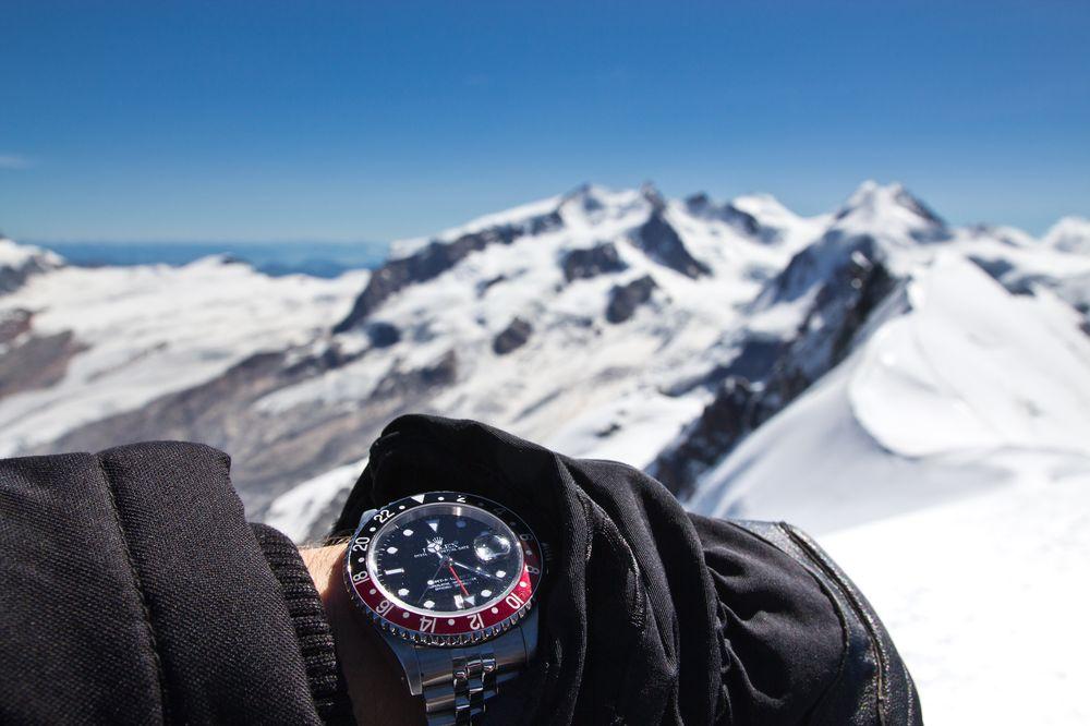 Rolex GMT Master 2 Breithorn