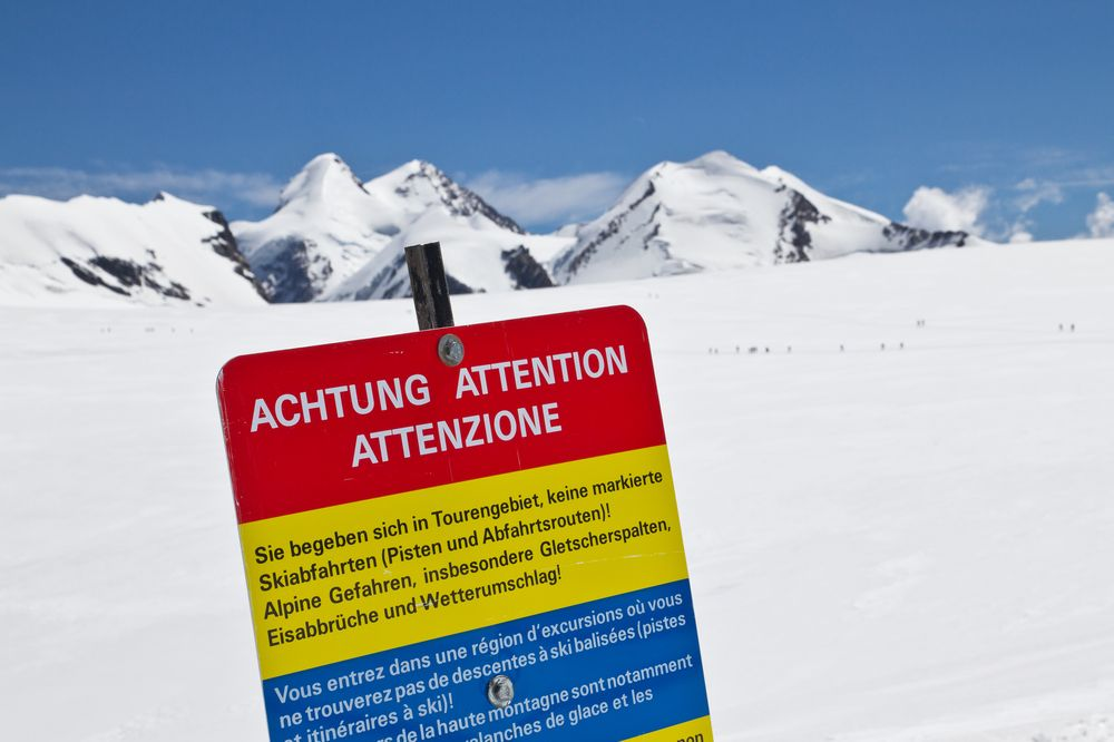 Skigebiet Matterhorn glacier paradise