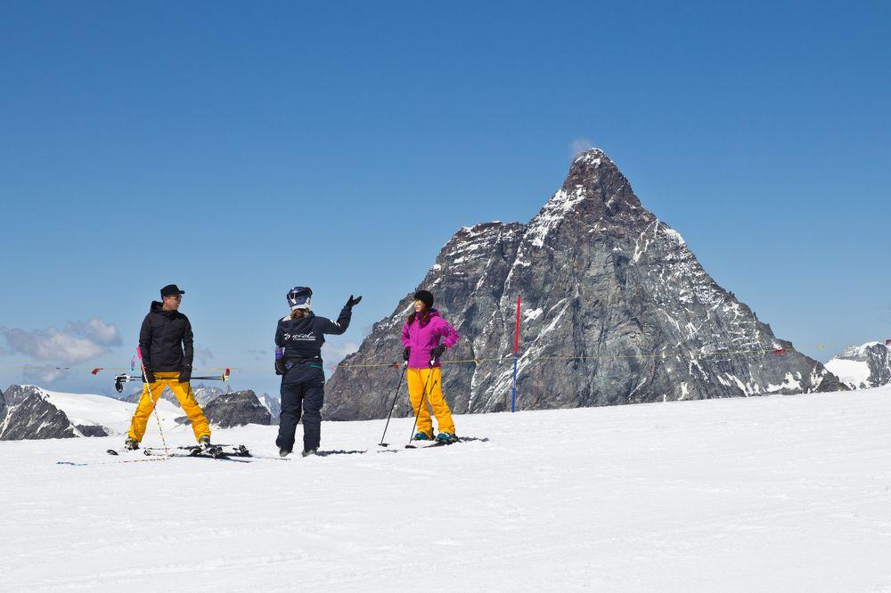Blick Matterhorn vom Klein Matterhorn