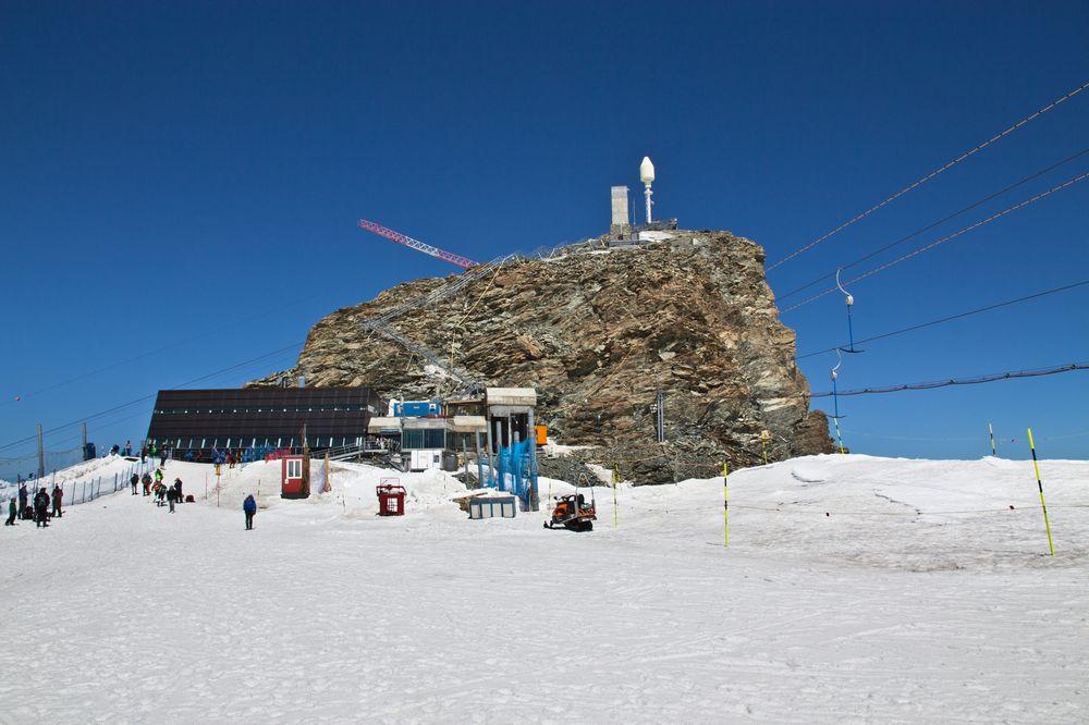Klein Matterhorn Gipfel