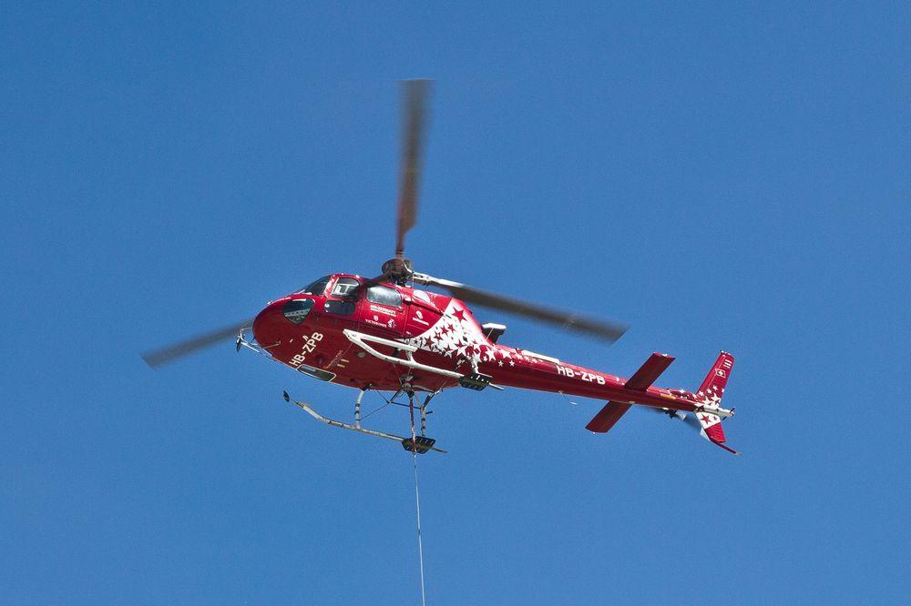 Air Zermatt Hubschrauber