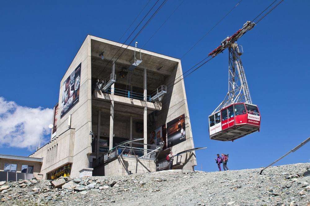 Seilbahn Trockener Steg Klein Matterhorn