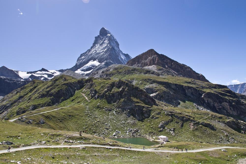 Matterhorn Schwarzsee Spiegelung