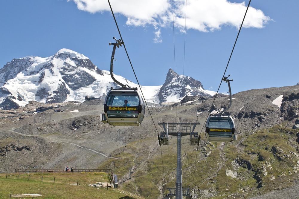 Matterhorn Express Luftseilbahn Zermatt
