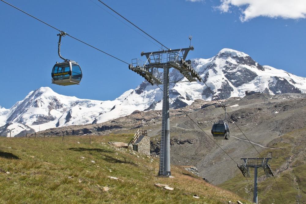 Seilbahn Zermatt Kleines Matterhorn