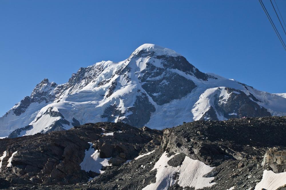 Breithorn Gipfel Zermatt Wallis