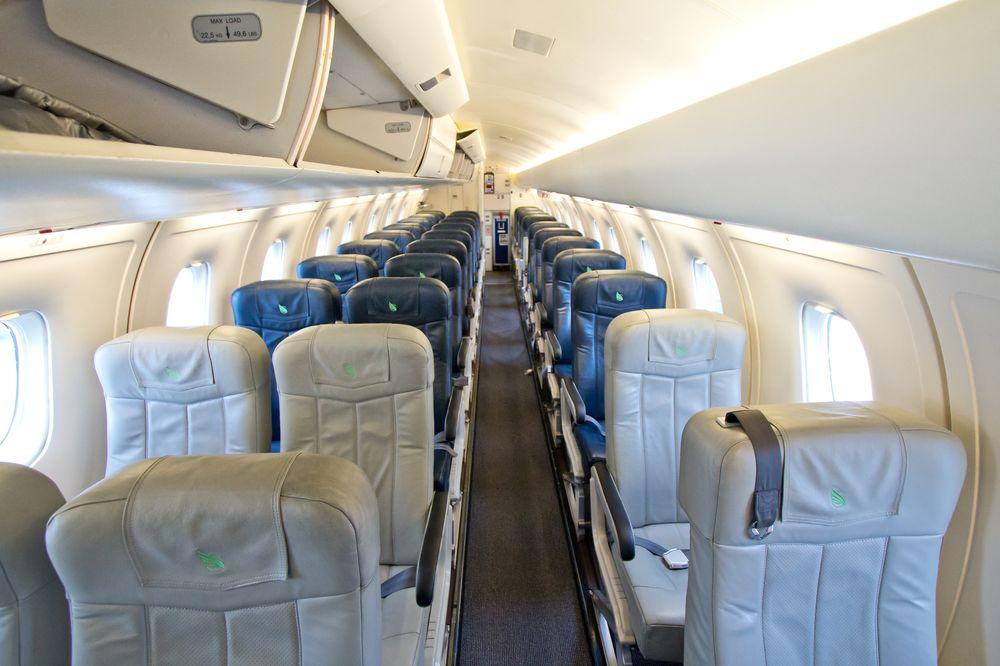 Dornier 328 Kabine Innenraum SkyWork Airlines