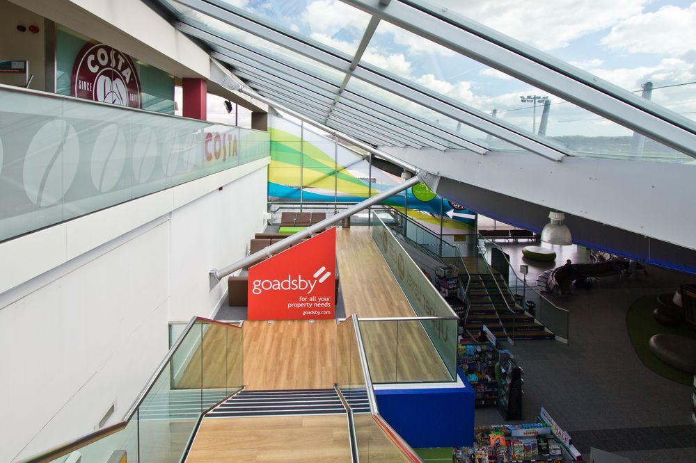 Flughafen Southampton Abflughalle
