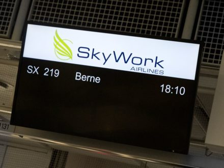 SkyWork Airlines Check In München