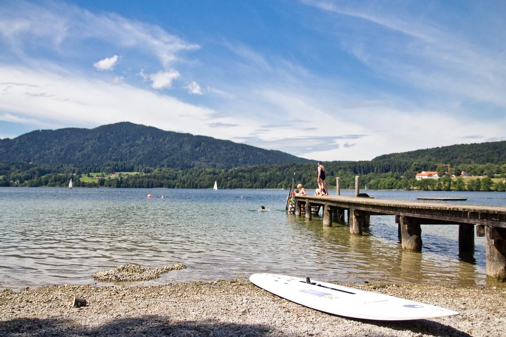 Ufern Tegernsee