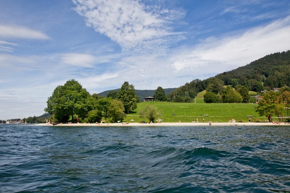 Tegernsee Schloss Boot