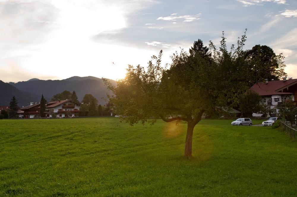 Sonnenuntergang Rottach-Egern