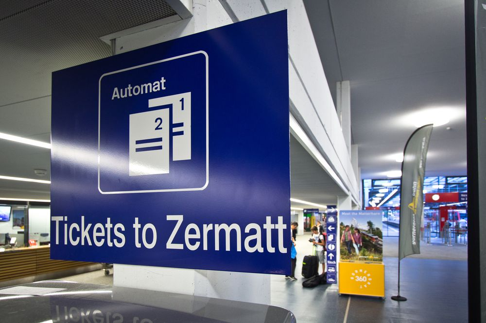 Tickets Täsch nach Zermatt
