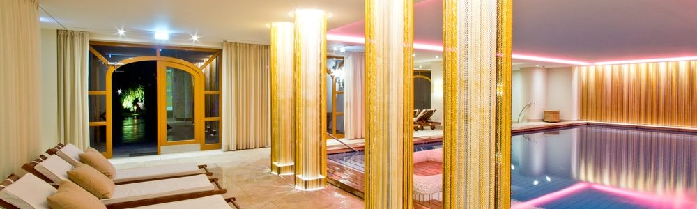 Pool Wellness Hotel Tegernsee Wochenende Bachmair Weissach