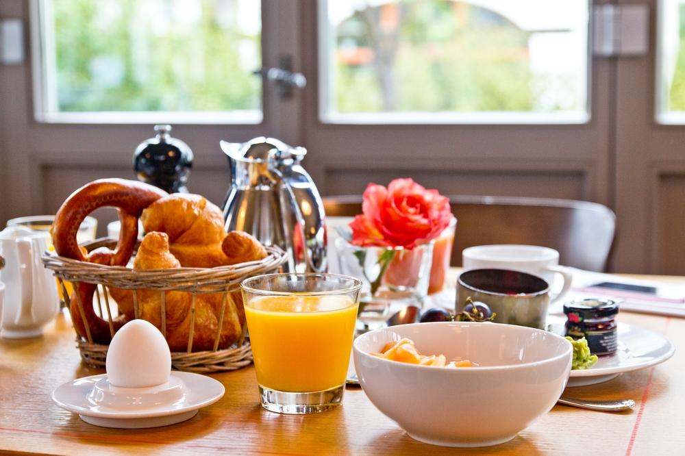 Pavillon Hotel Bachmair Weissach Tegernsee Frühstück