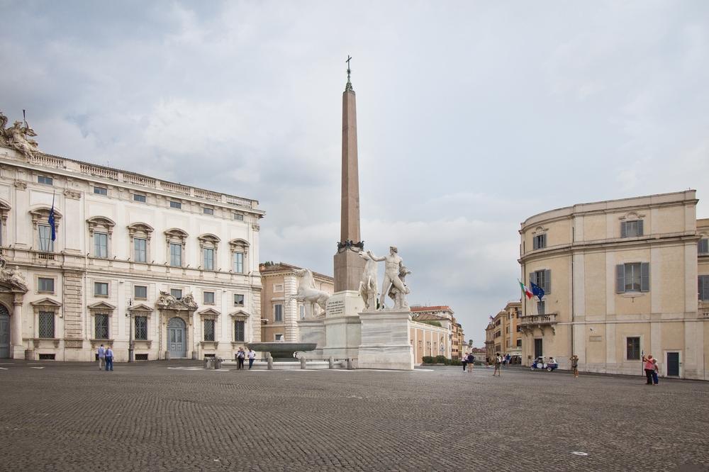 Dioskurenbrunnen Rom Castor und Pollux