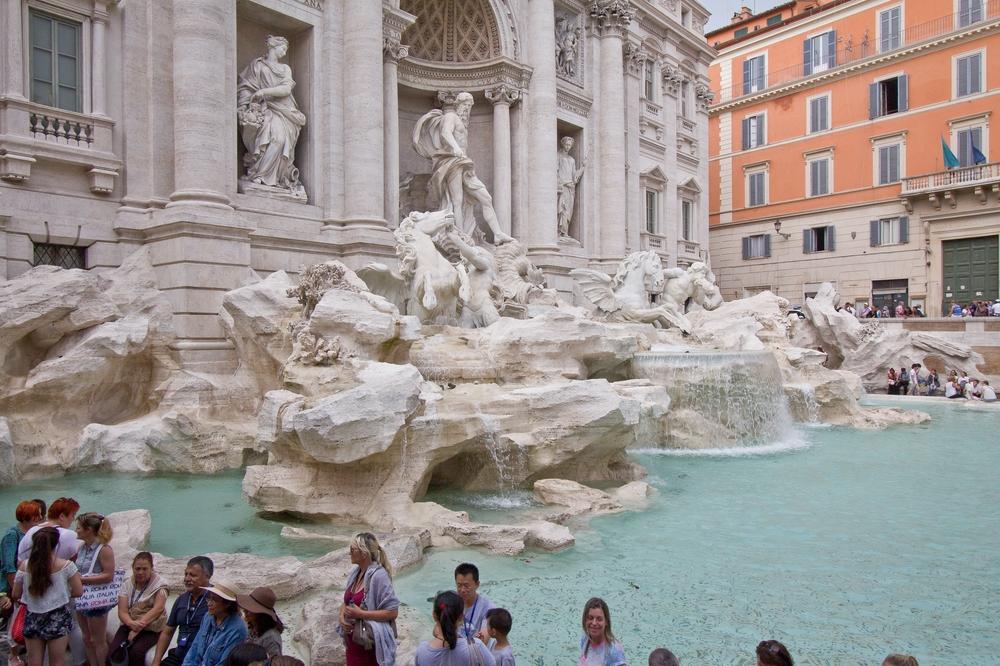Trevi Brunnen Rom Kreuzfahrt