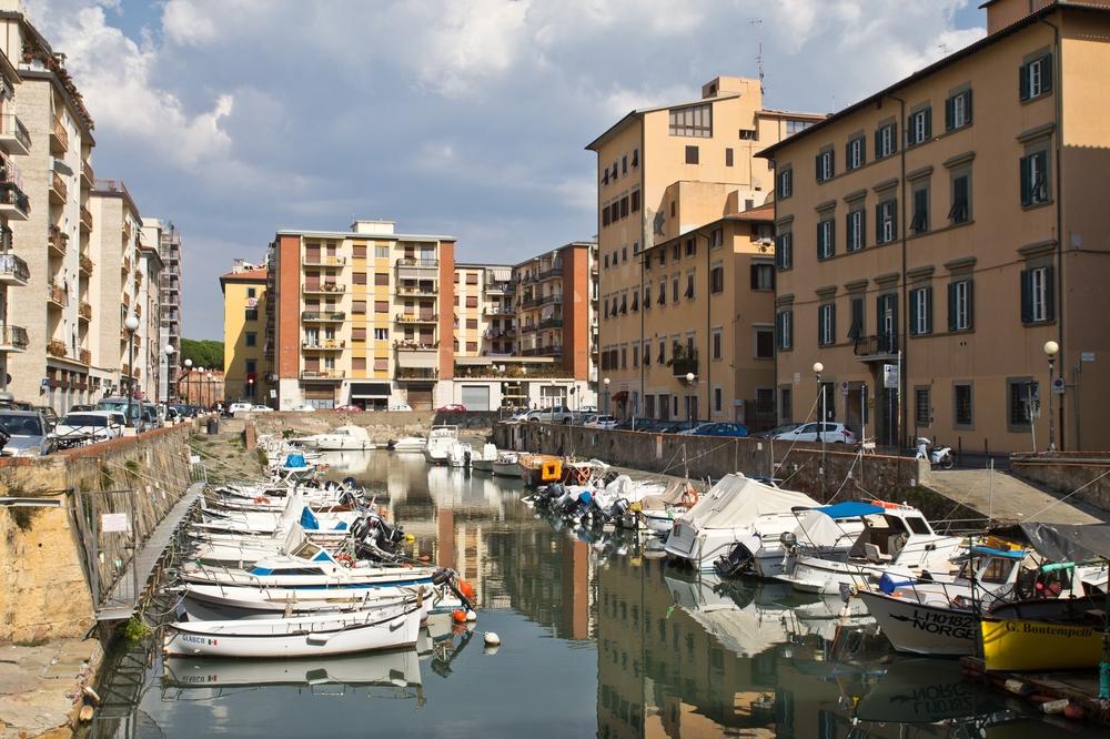 Kanäle Livorno