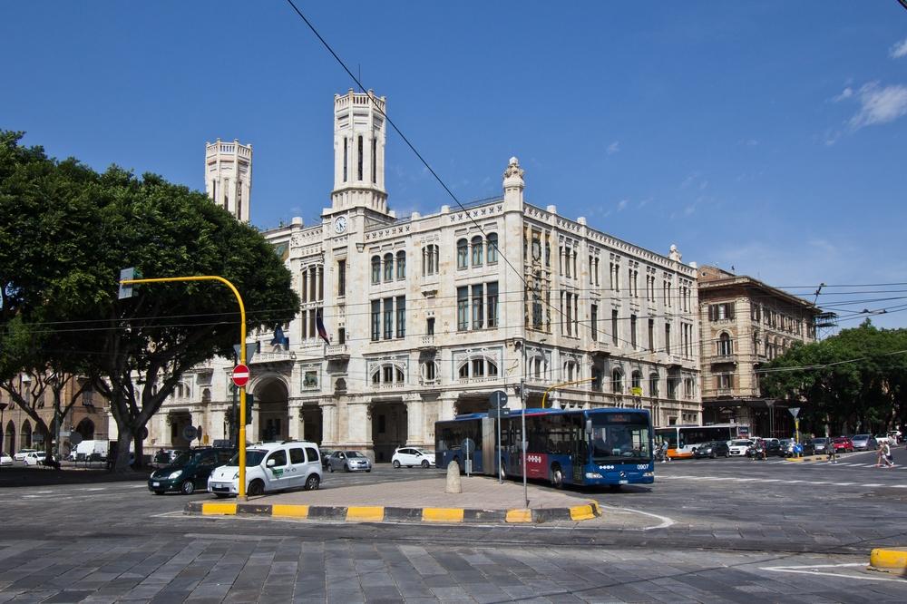 Rathaus Cagliari Palazzo di Città