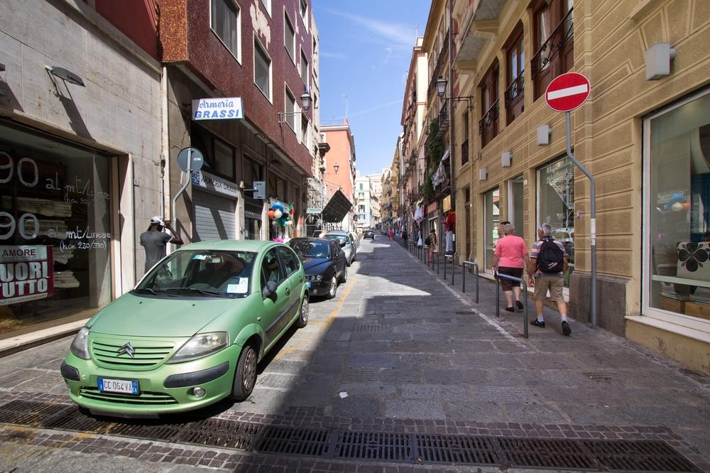 Straße Cagliari