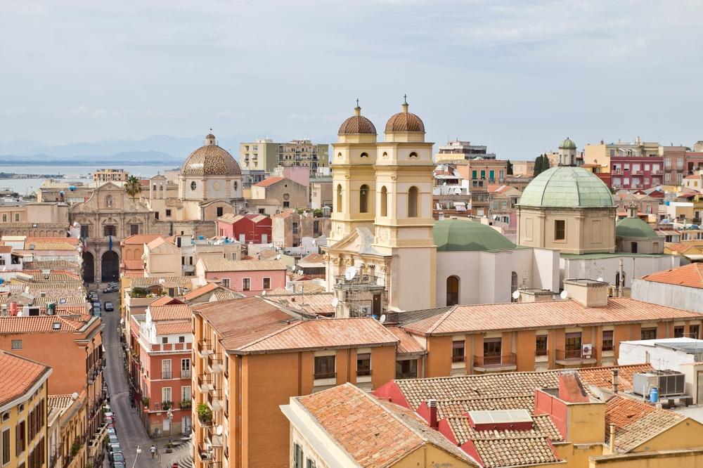 Cagliari Collegiata di Sant'Anna