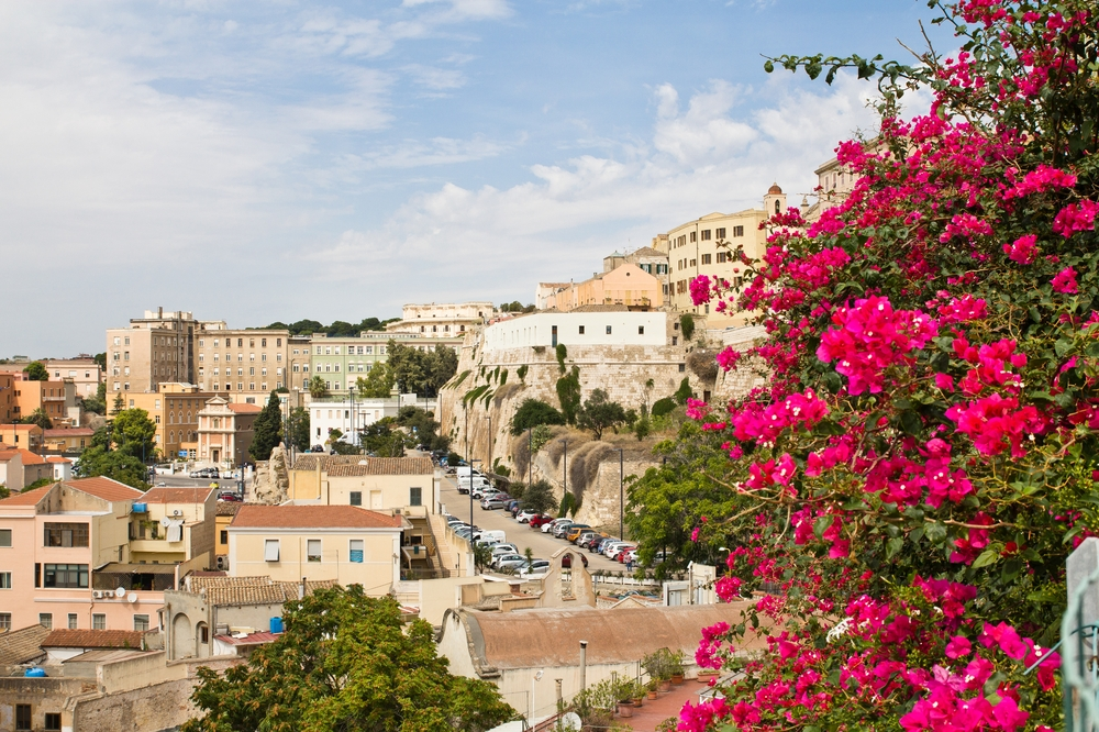 Cagliari Aussichtspunkt Università degli Studi di Cagliari