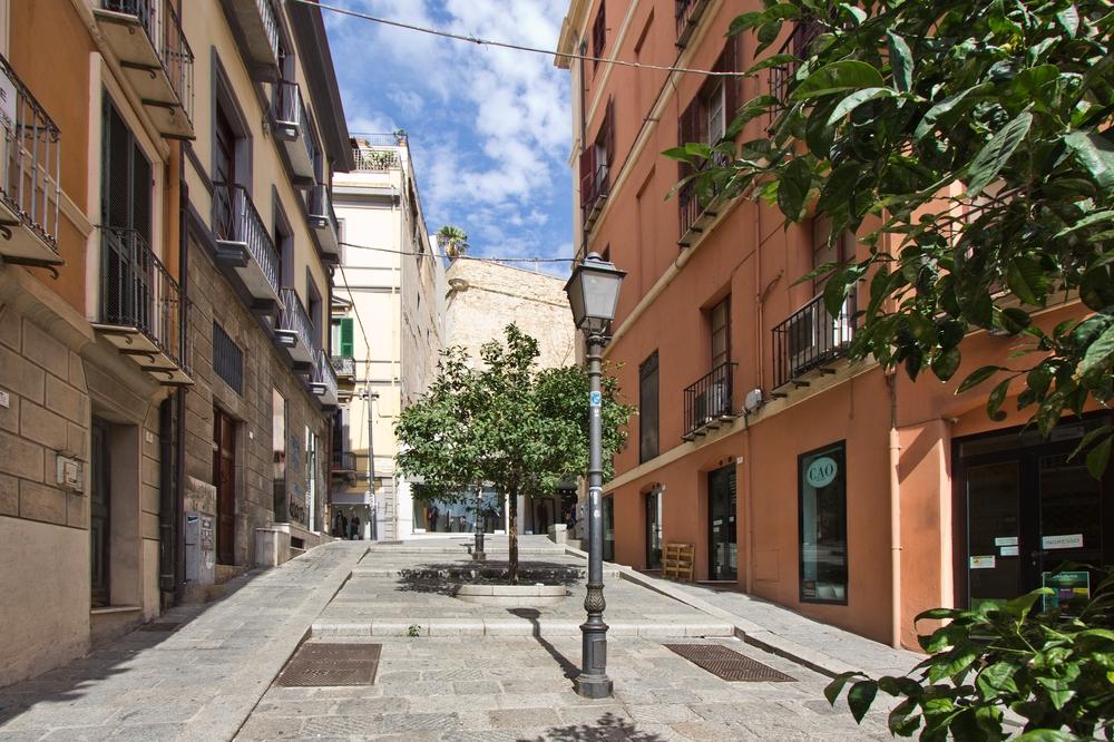 Cagliari Straße Platz